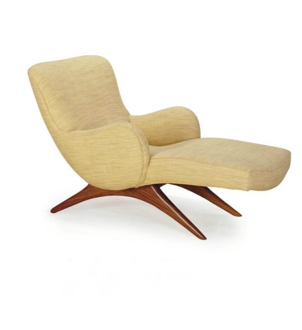 Kagan;170 'contour' Chaise Walnut Longue1950The C Vladimir GUzqSMpV