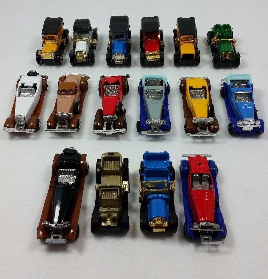 Lot Of 16 Vintage Early 1900 S Replica Toy Cars As Is Toy Car Diecast Cars Vintage