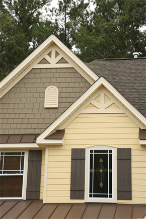 James hardie design ideas photo showcase houses for Vinyl siding and shutter color combinations