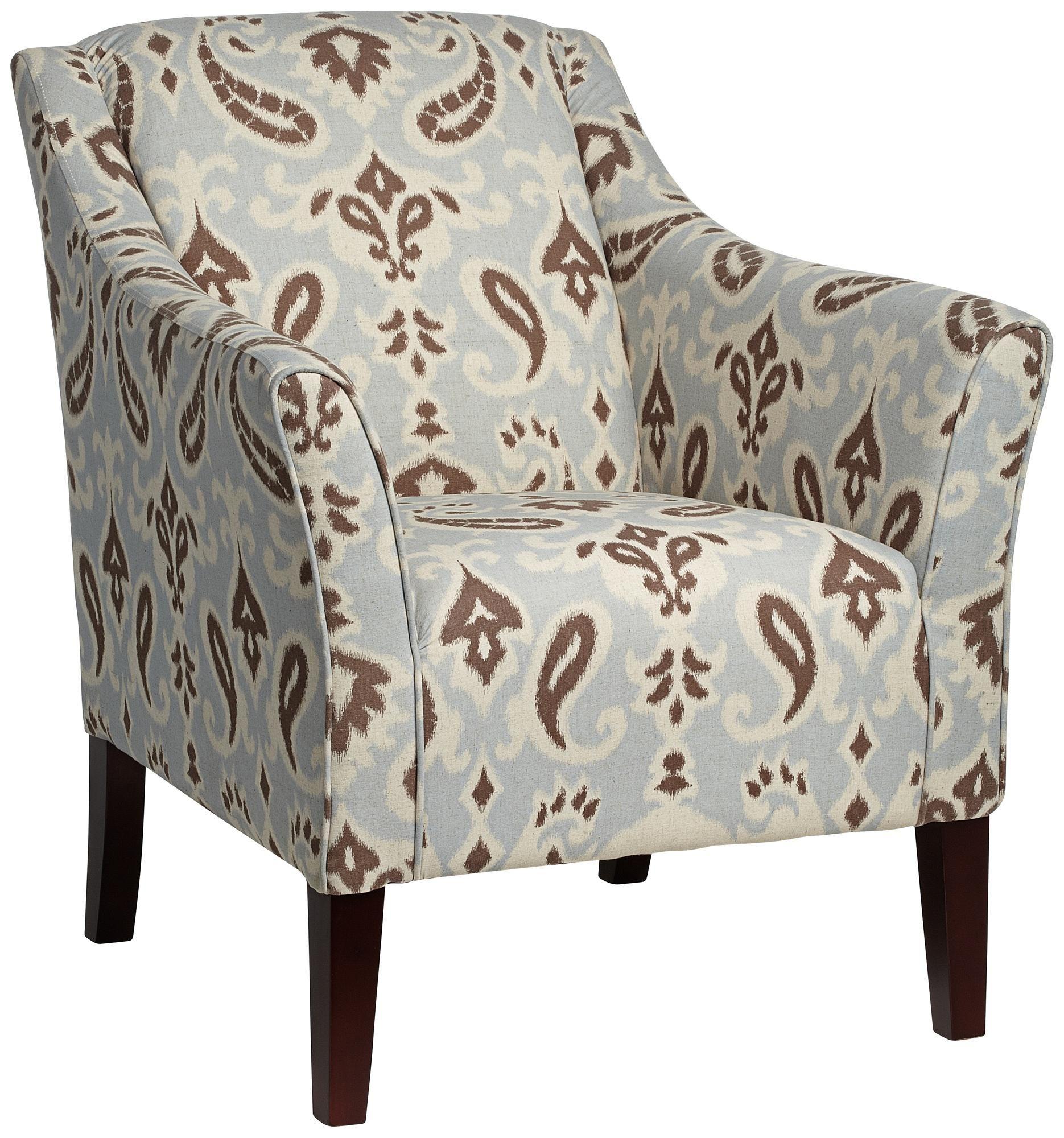 Delicieux Diana Ikat Multi Arm Chair | LampsPlus.com
