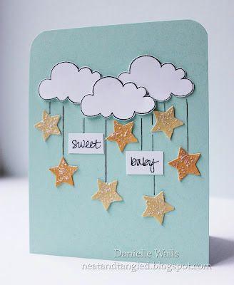 Scrap cartão para uma amiga grávida - Só Melhora