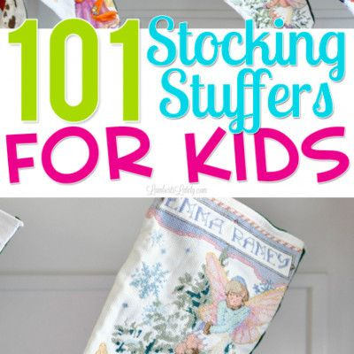 101 Unique Stocking Stuffers for Kids   - Great ideas for stocking stuffers for kids   #stockingstuffersforkids   #christmasgiftideas   #christmasgifts