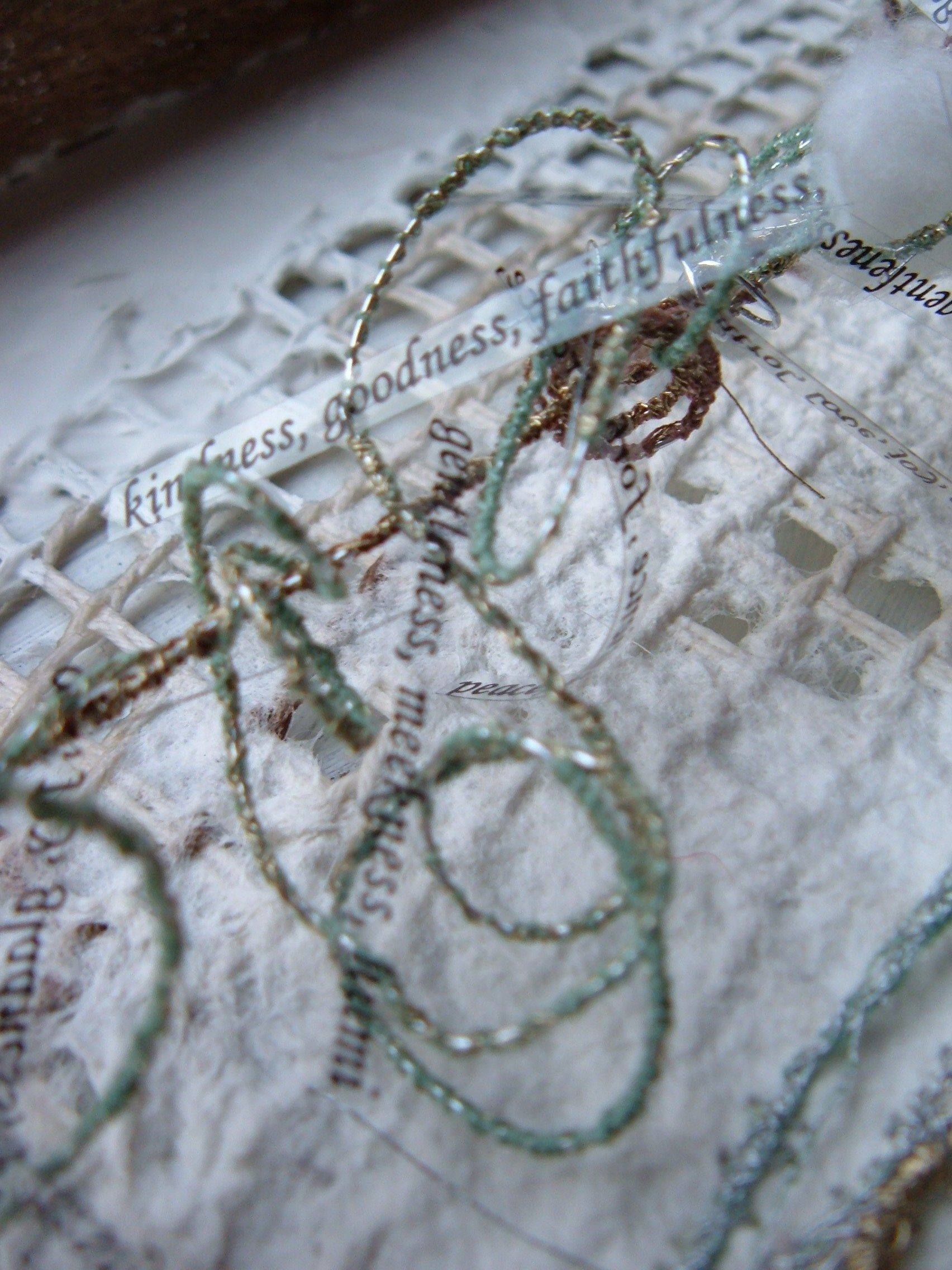 Jane George. nest-building series. SOLD
