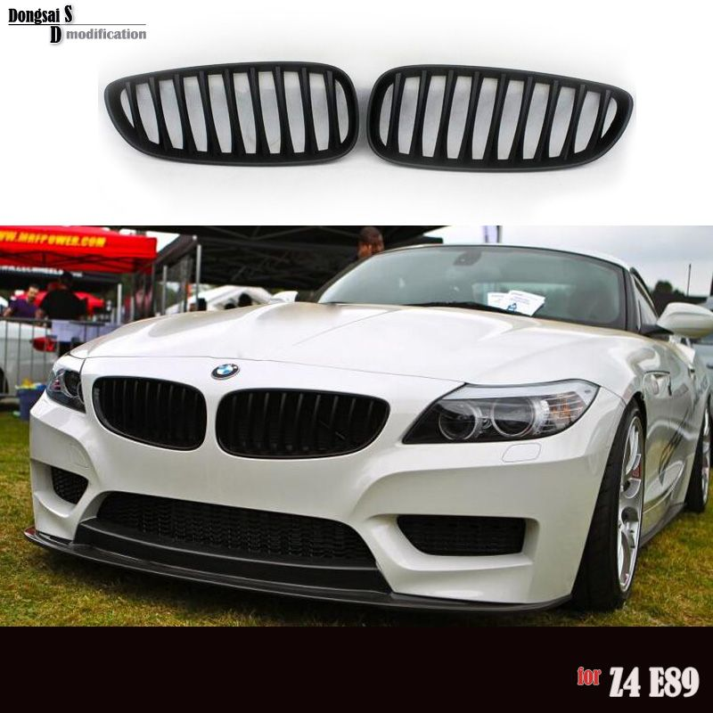 Bmw Z4 2009: 18i 20i 23i 35is 28i 30i 35i Front Kidney Black Racing
