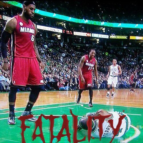 Lebron James Crazy Dunk On Jason Terry Rip Jet Best Memes Lebron James Dunking Lebron James Jason Terry