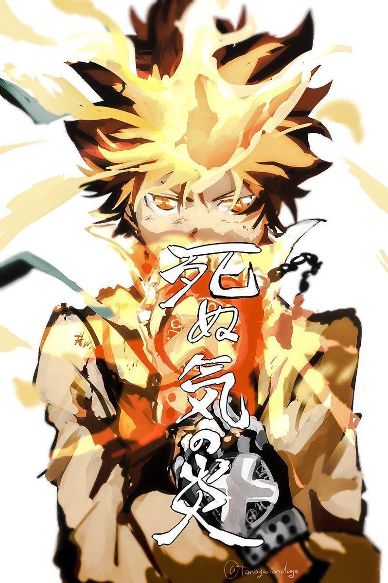 Dying Will Flame Sawada Tsunayoshi Katekyou Hitman Reborn