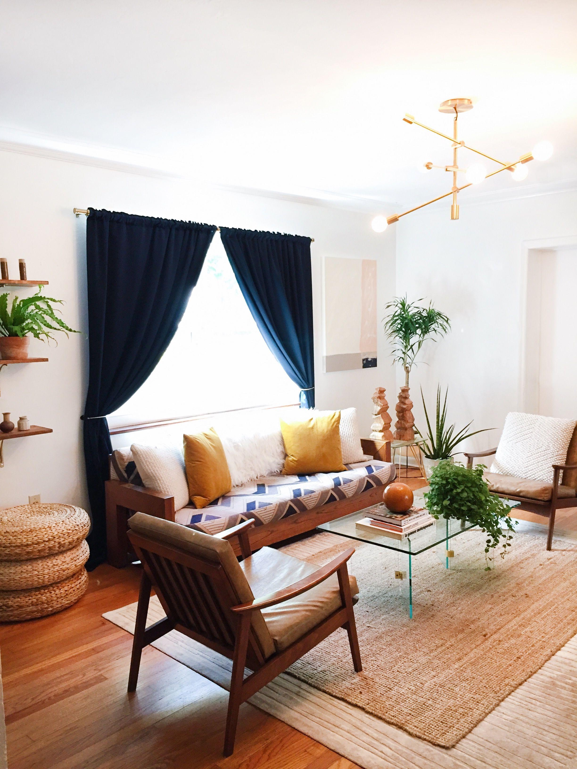 Www ArteBoheme Miami Based Interior Design Blog Mid Century Boho Living Room