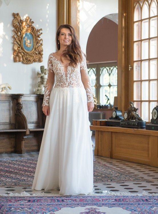 fc92545e7e Suknie - Romantyczna suknia ślubna