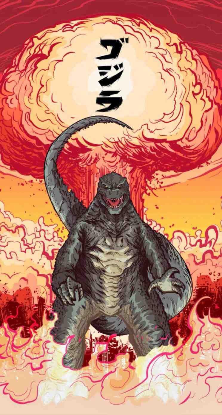 Godzilla   Art   Pinterest