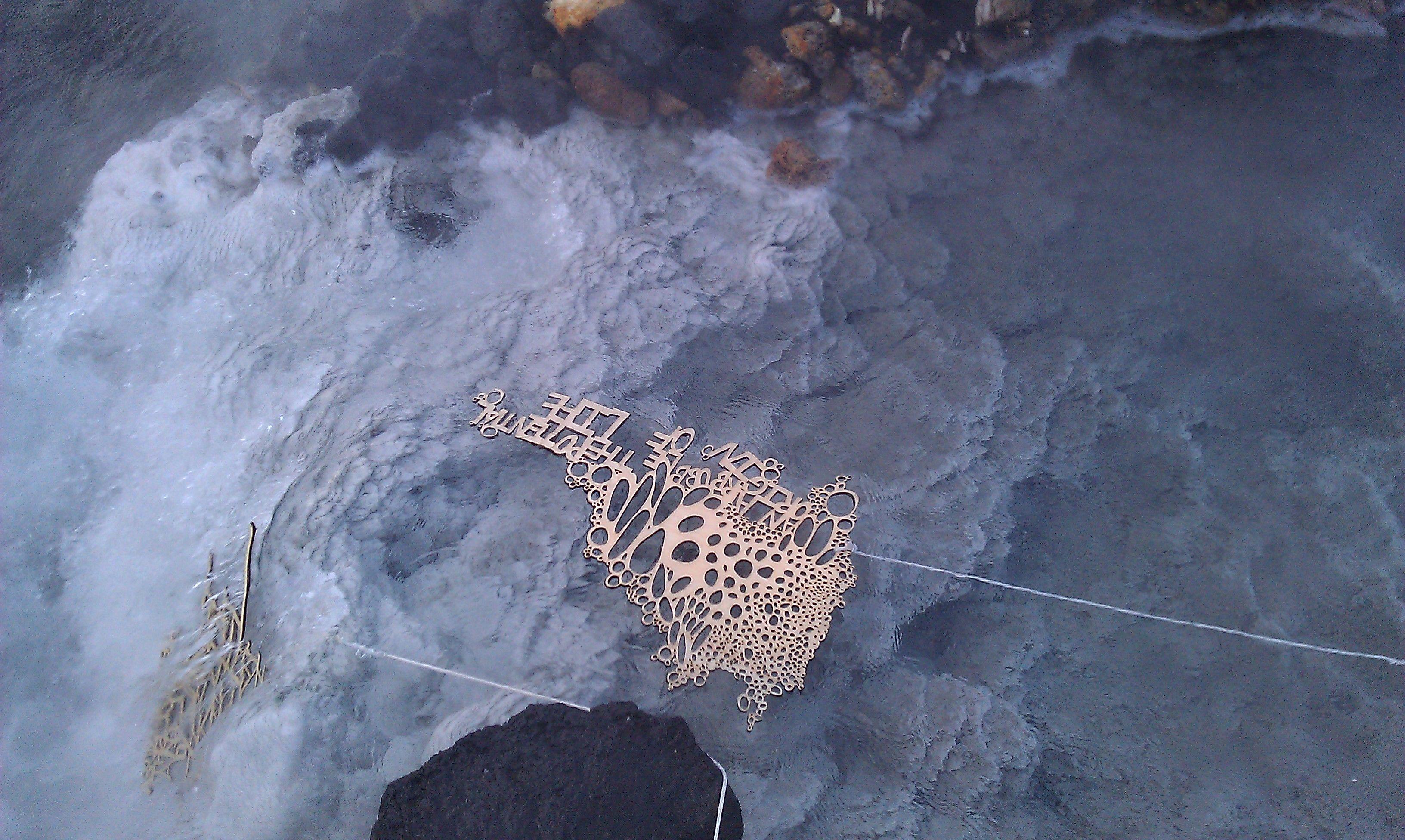 Ilana Halperin: Geothermally Occurring Sculptures