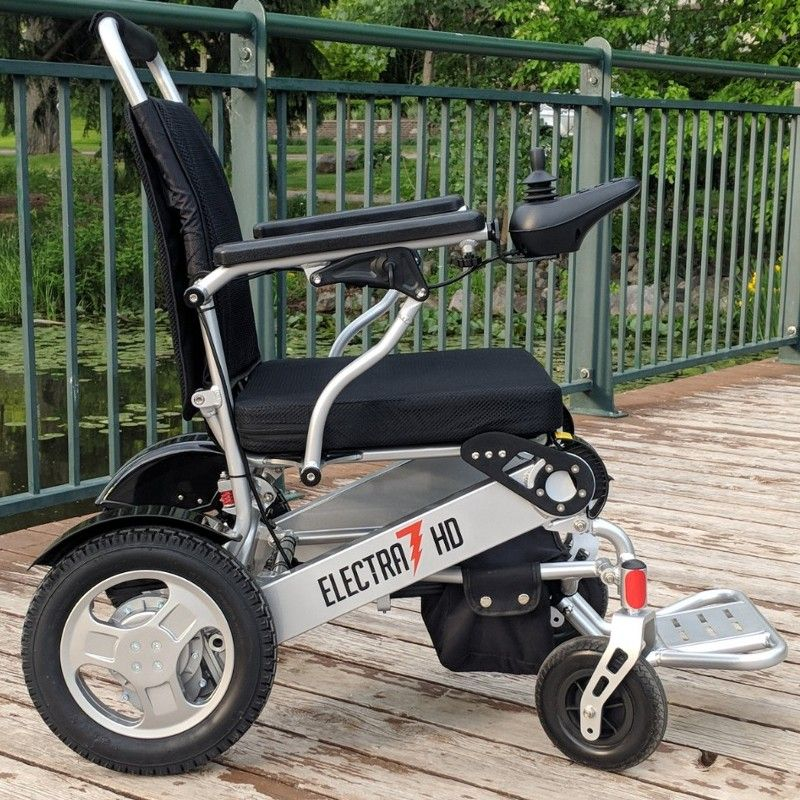 2887 Electra 7 Hd 21 Inch Wide Folding Bariatric Wheelchair Ft