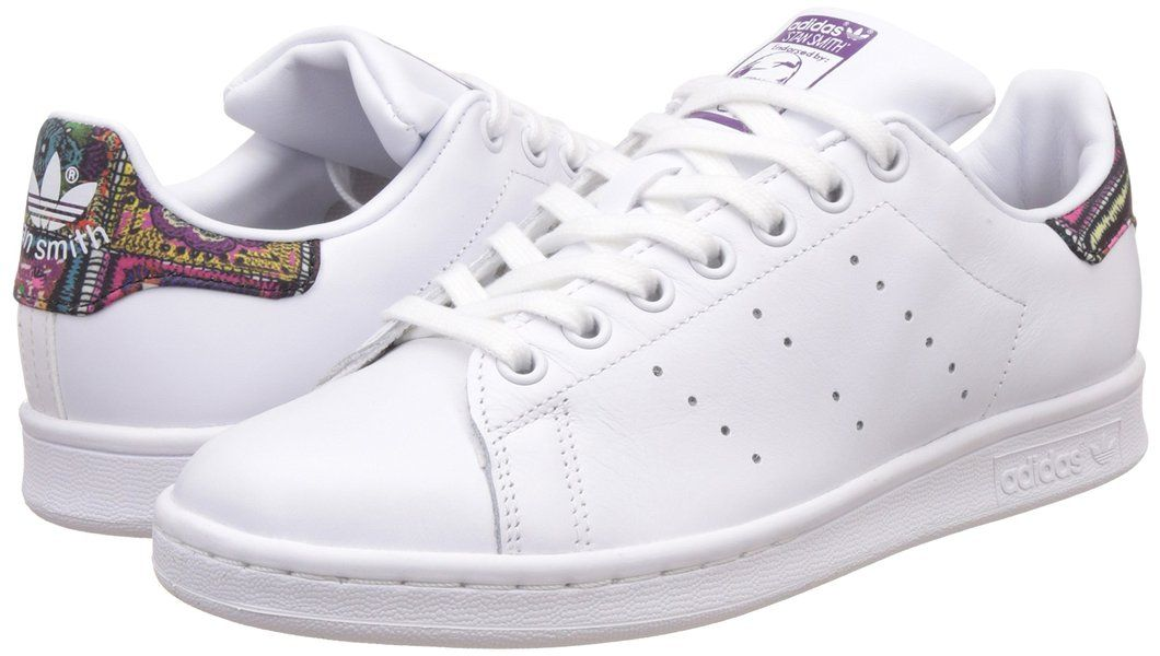 adidas stans smith donna 40 2%2F3  Adidas Women Stan Smith Low-Top Sneakers, White (Ftwr White/Ftwr ...