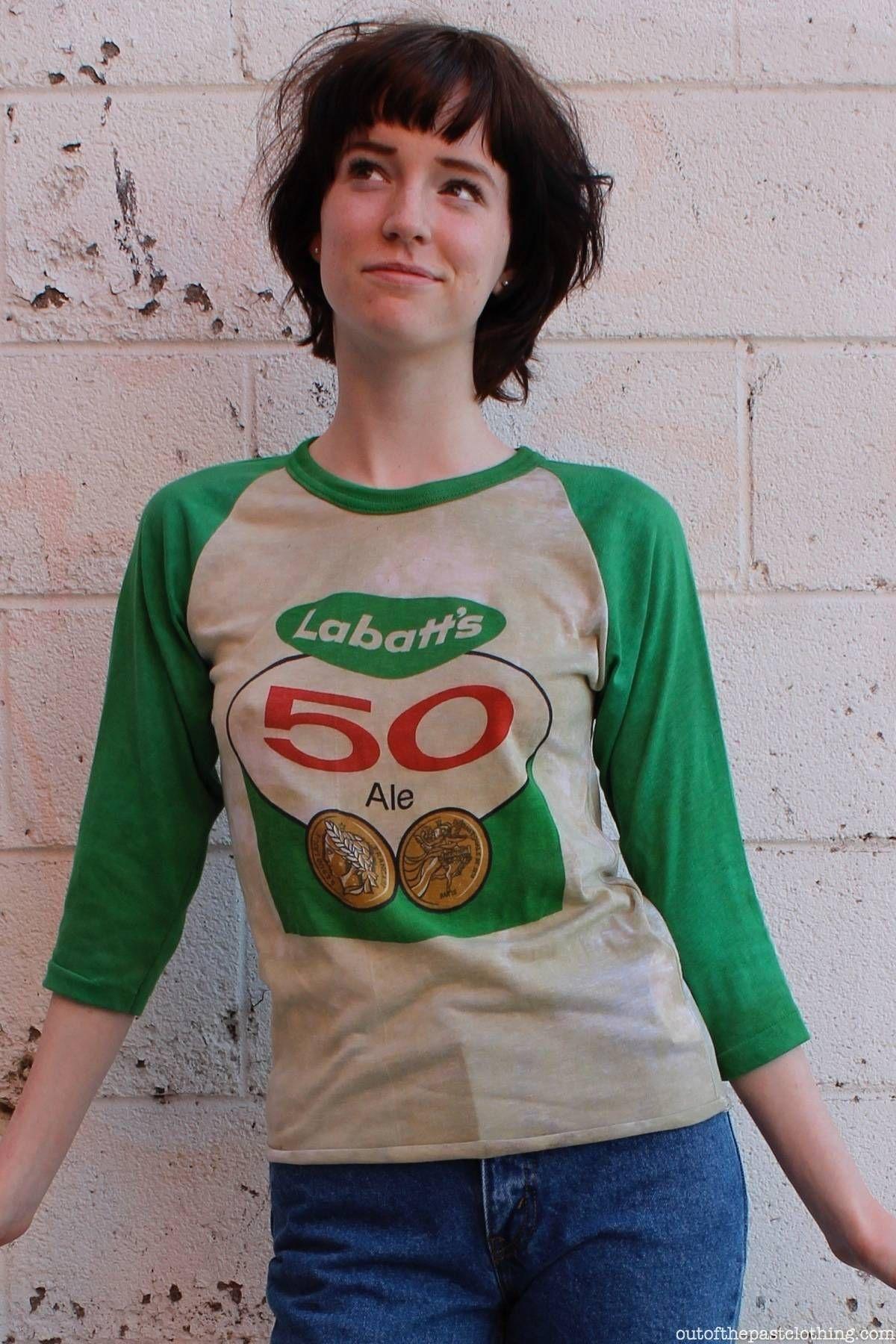 fa4499df7f4 Labatt s 50 Ale NOS 1980s T-Shirt