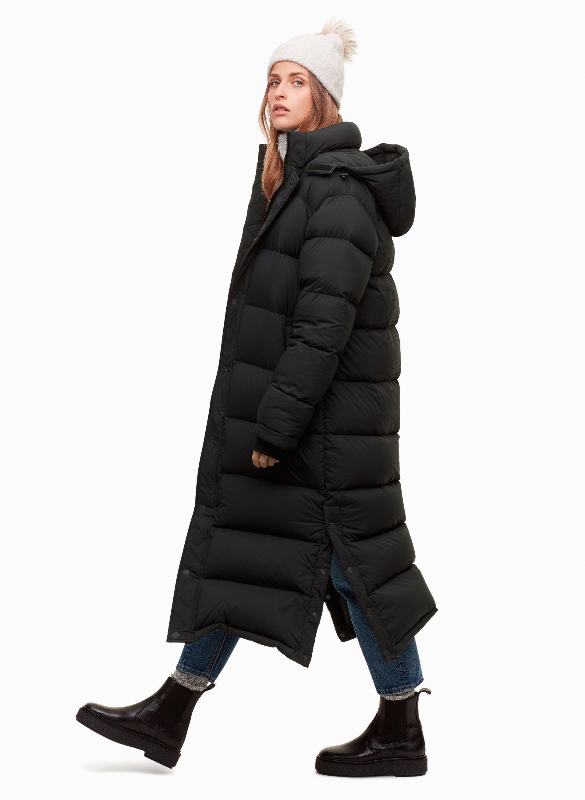 Tna The Super Puff Long Aritzia Casual Winter Outfits Long Puffer Coat Coats For Women [ 2623 x 1920 Pixel ]
