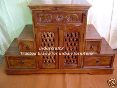 Furniture Design Door puja room design. home mandir. lamps. doors. vastu. idols