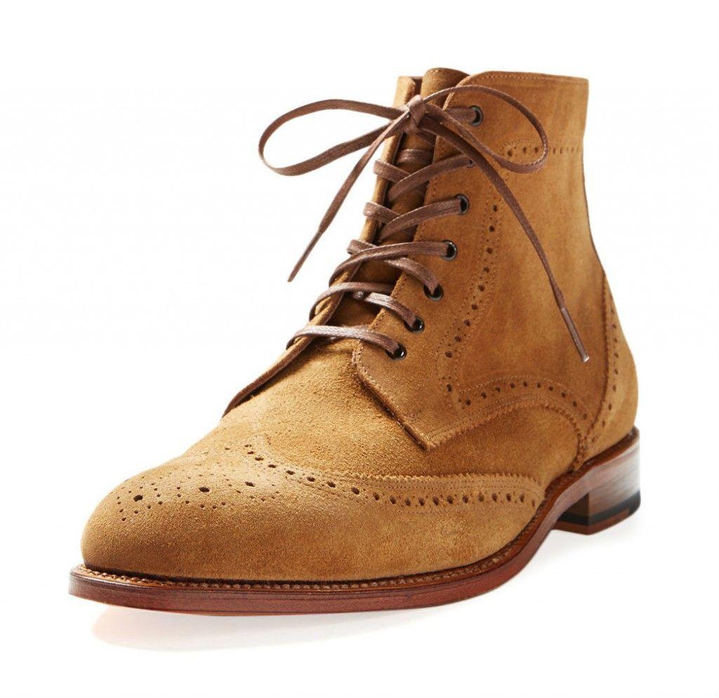 Wingtip boots, Mens casual shoes, Mens