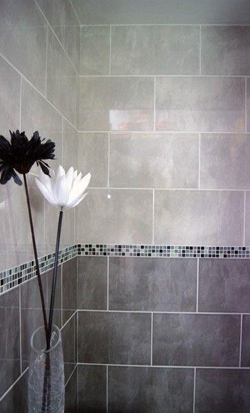 Grey Bathroom Tile Grey Bathroom Ideas Greybathroom Tile Ideas Tags Grey Bathroom Paint Grey Bat Mosaic Bathroom Tile Bathroom Wall Tile Tile Bathroom