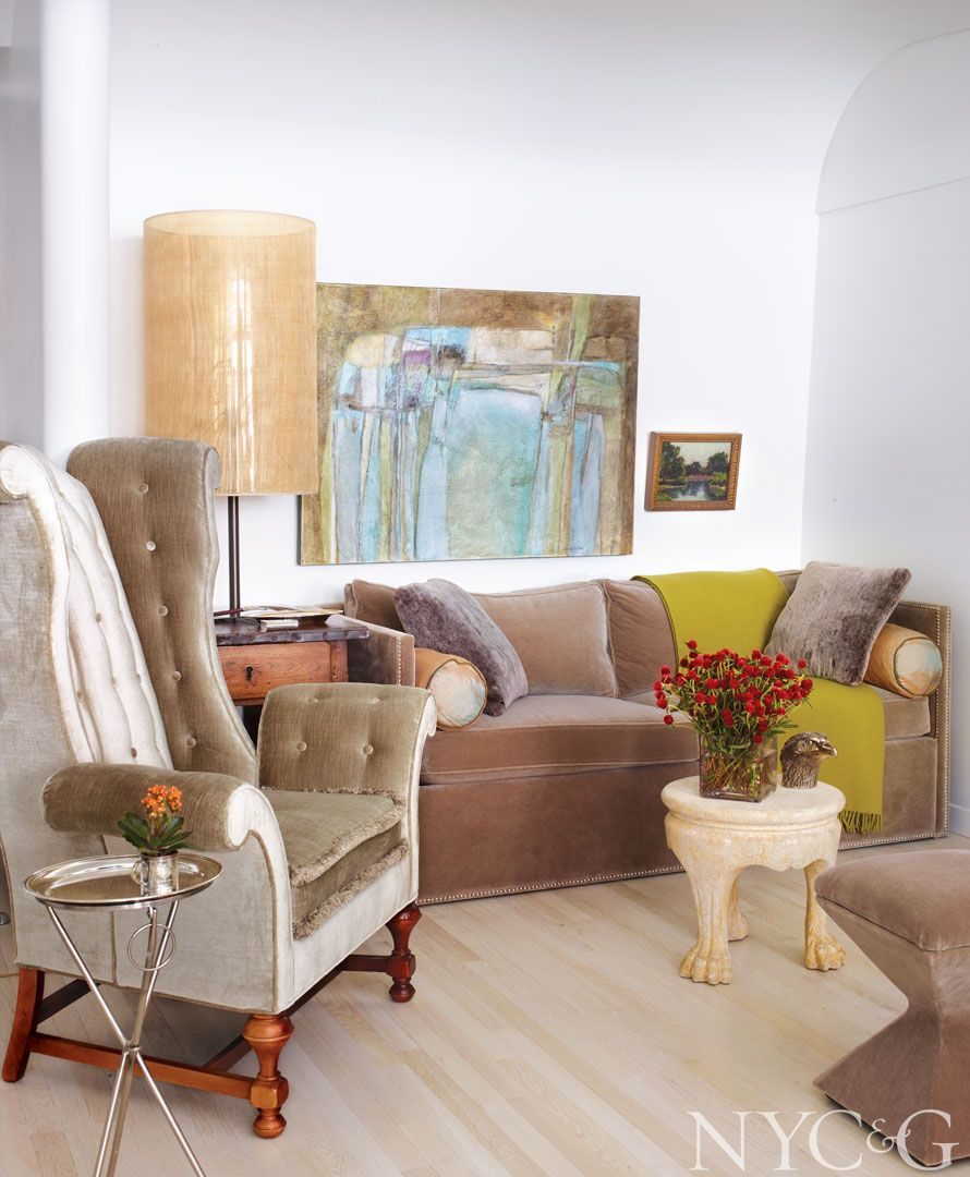 Manhattan New York Studio Apartments: Tour A Chelsea Loft With A Touch Of Southern Charm
