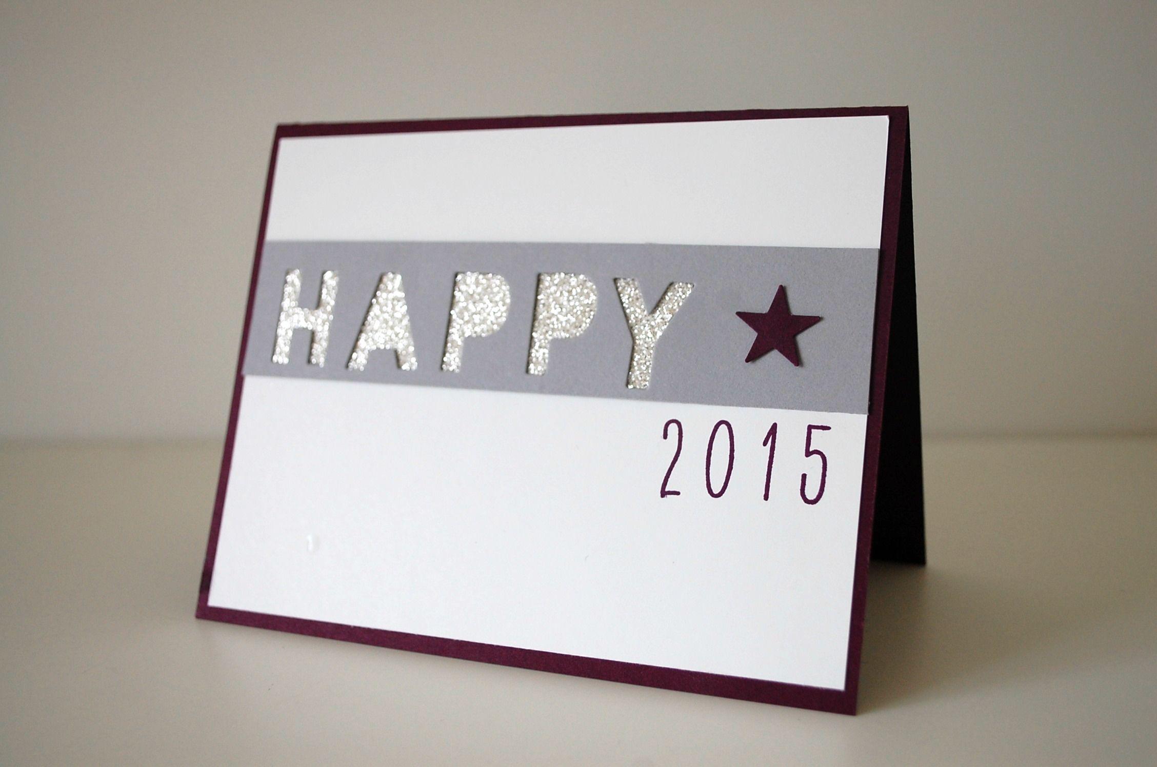 Neujahrskarten Selber Basteln