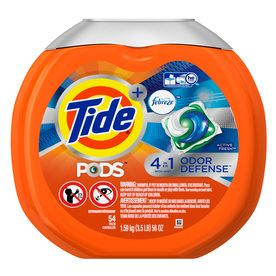 Tide Pods Plus Febreze 54 Count Febreze He Laundry Detergent