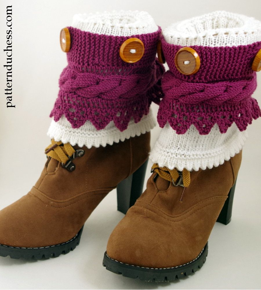 How to knit boot cuffs knittingcrochet and other crafts pinterest how to knit boot cuffs bankloansurffo Images