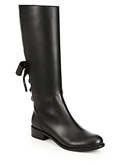 cheap sale online with credit card sale online Valentino Ascot Leather Riding Boots b4Z3I4R