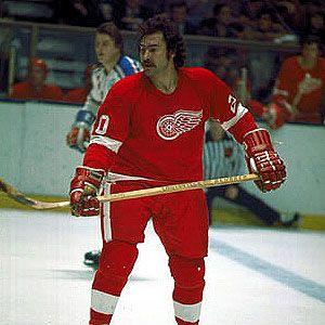 Mickey Redmond Detroit Red Wings  GUTS-GLORY-RED WINGS