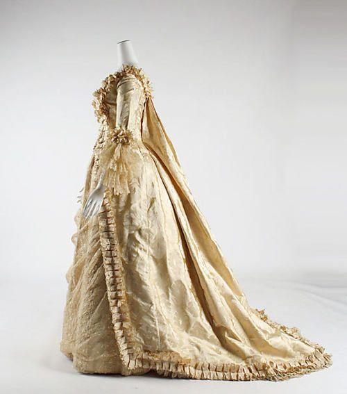 Wedding Dress (American), Met Museum, early 1880s