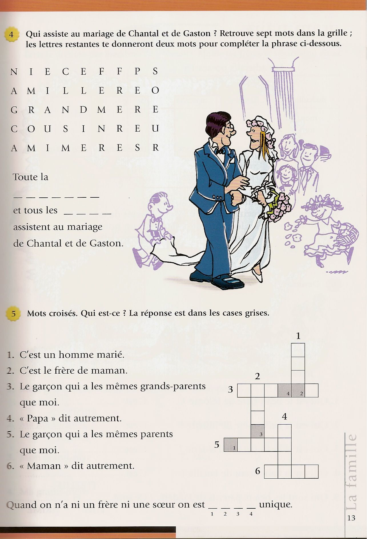 Pin By Emily Bross Quinn On French Family Vocab