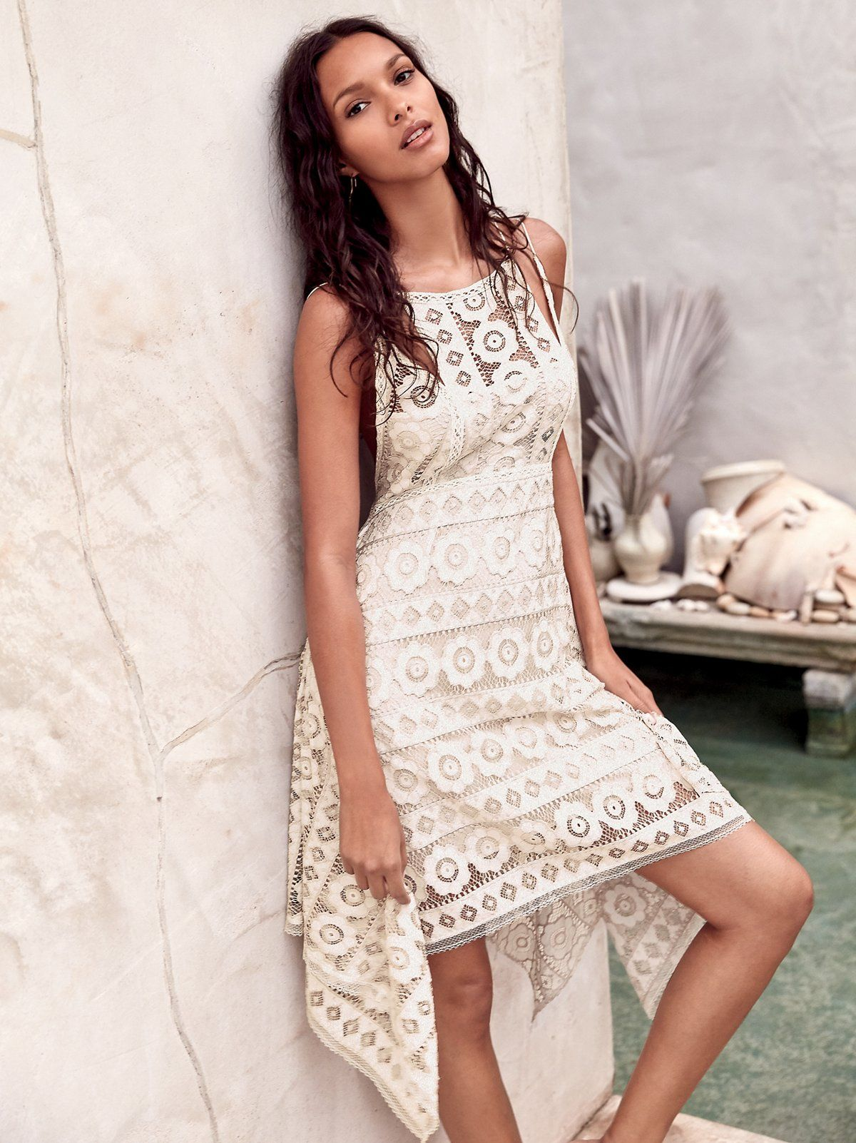 Lacey festival mini dress
