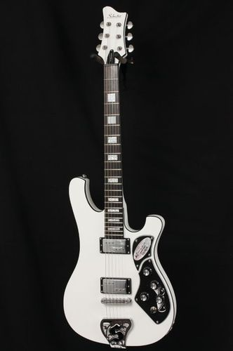 schecter guitar research stargazer 6 electric guitar white acoustics other guitars. Black Bedroom Furniture Sets. Home Design Ideas