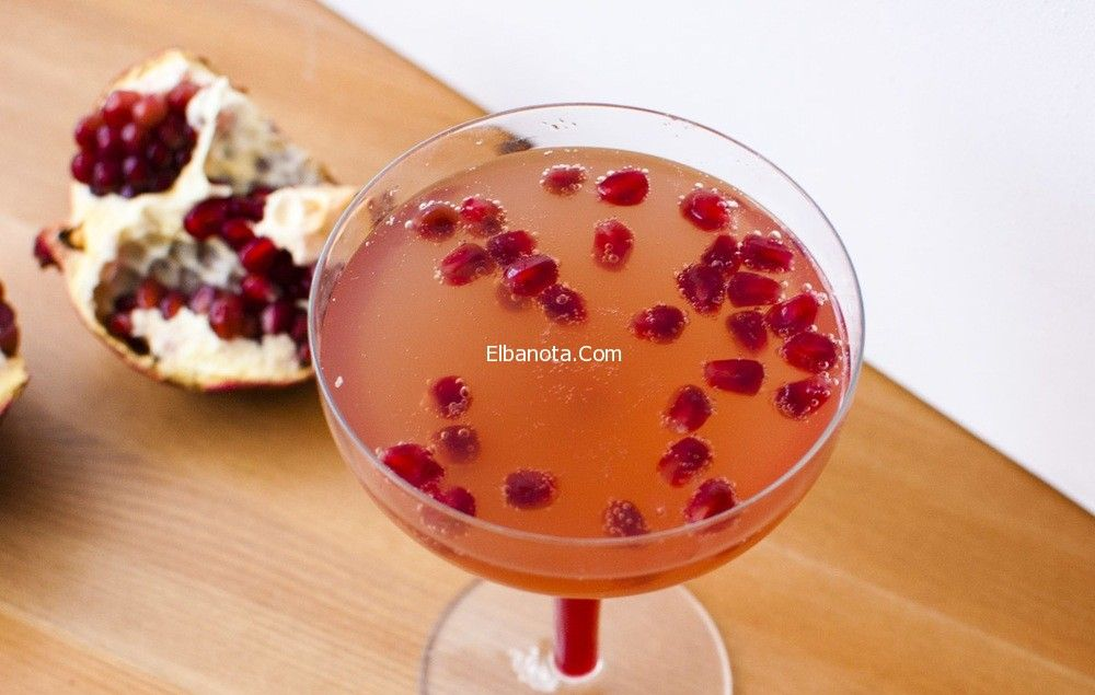 مشروب الزنجبيل و قشر الرمان لتنحيف الخصر وإذابة دهون البطن Champagne Cocktail Pomegranate Pomegranate Cocktails