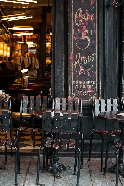 Cafe Saint Regis A Charming Cafe On Ile Saint Louis In Paris Paris St Regis Paris Restaurants
