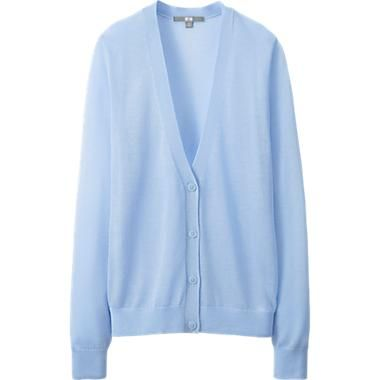 You can buy this nice blue cardigan on: http://www.uniqlo.com/us ...