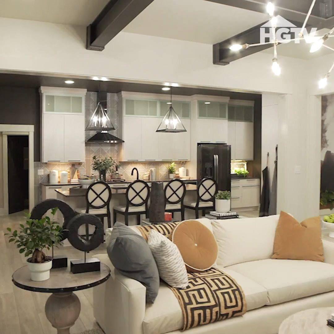 Hgtv Smart Home 2020 Interior Walk Through In 2020 Home Dream Home Design Interior