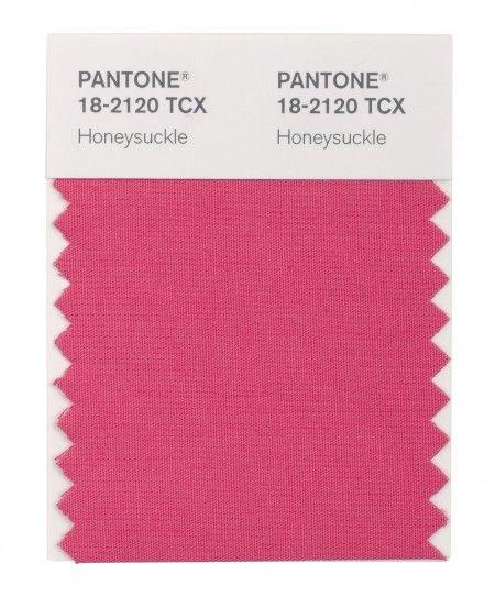 Honeysuckle Pink - Pantone 205