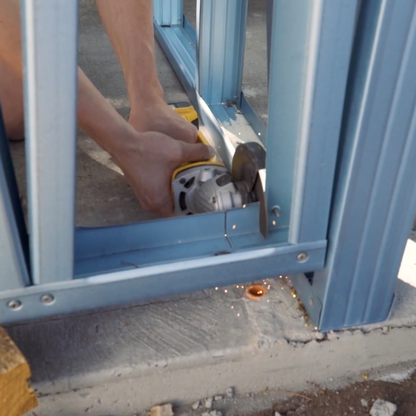 Cut Out Any Holes Required For Wiring And Conduit Follow A Tiny House Thetinyblox