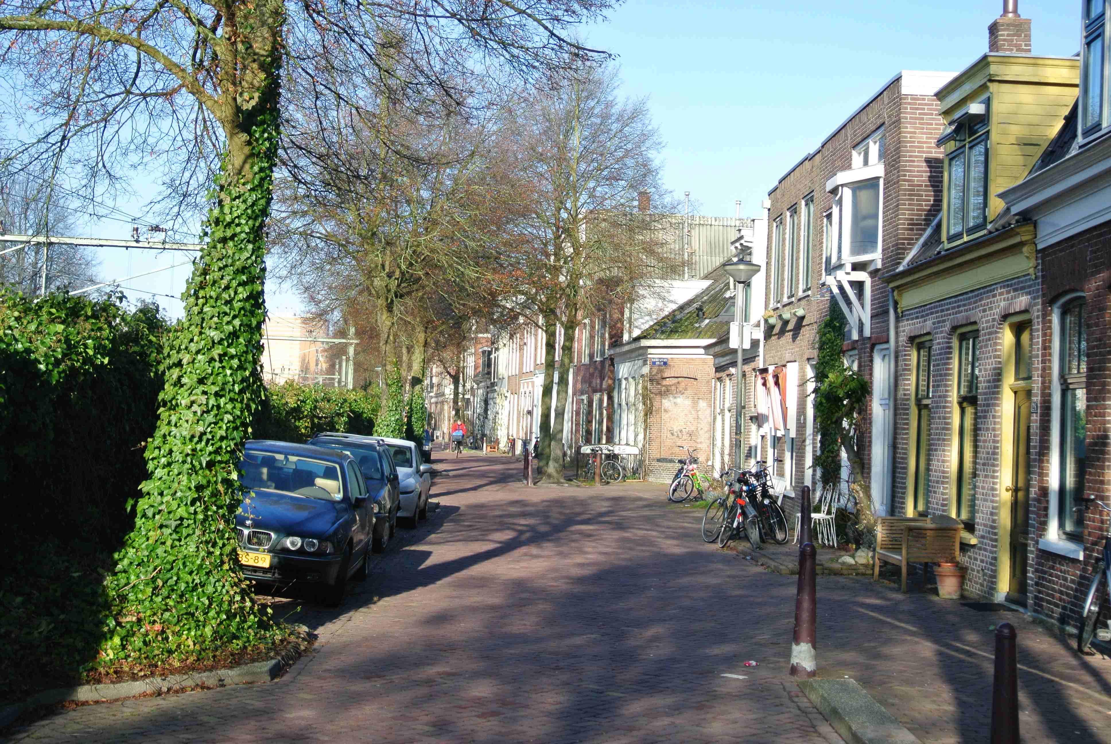 Straatje in Groningen