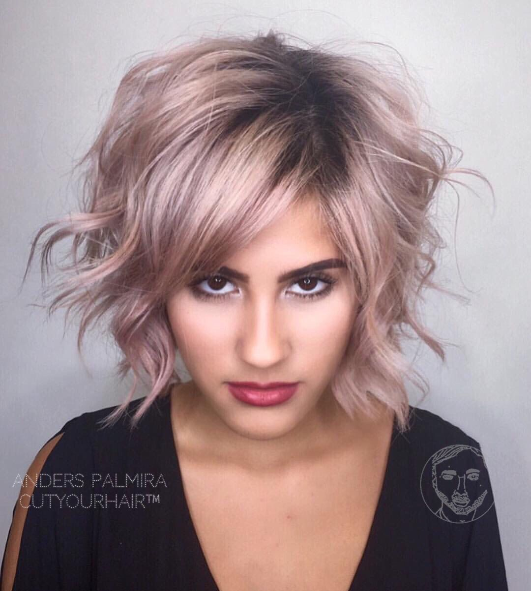 Wave For Medium Thin Hair | fine hair hairdresser on fire, aveda wavy long blonde bob short hair ...