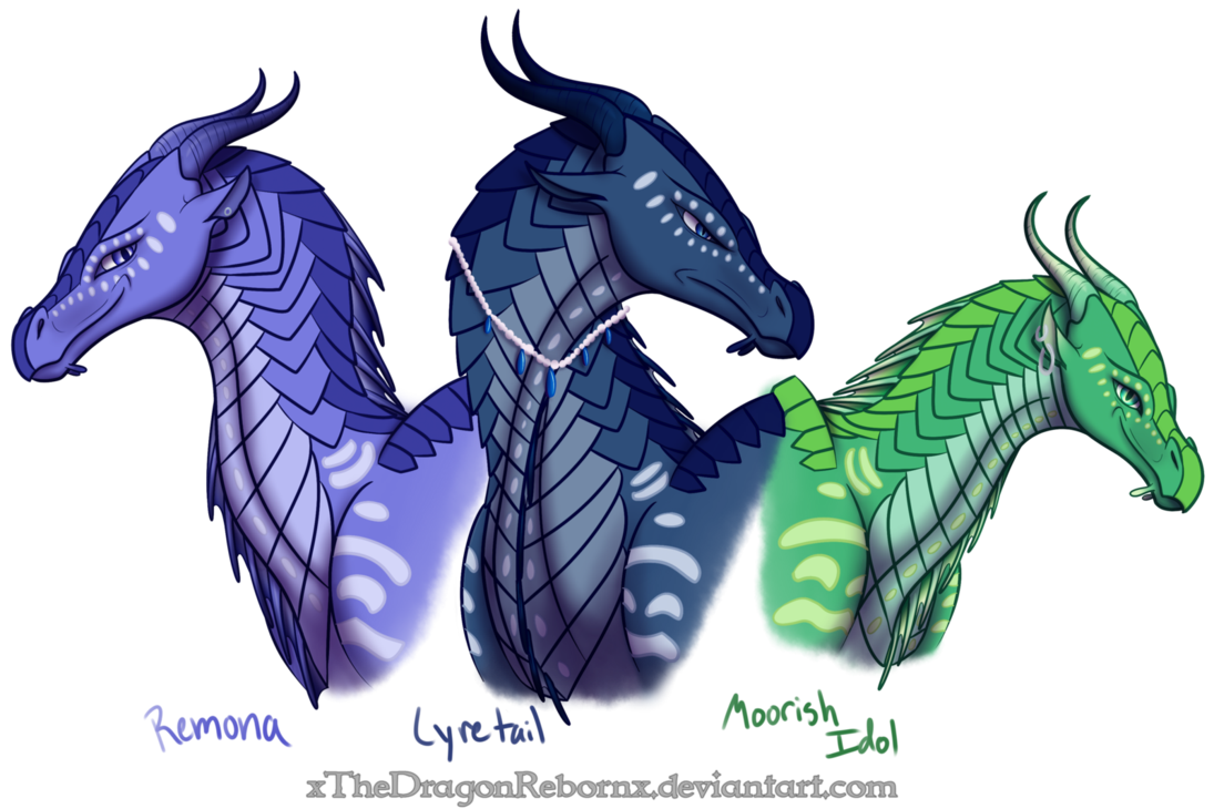 One Of My Wings Of Fire Ocs. Edit: I Had To Put A Watermark Over Since I ...