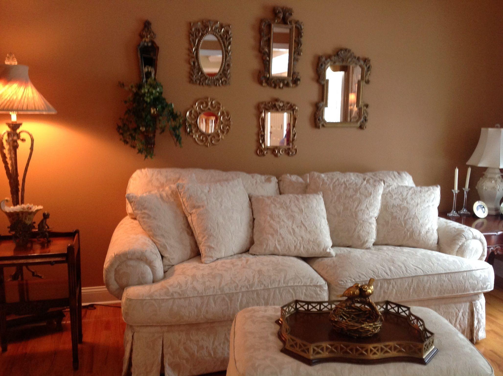 Formal living room # mirror wall   Decor, Living room ...