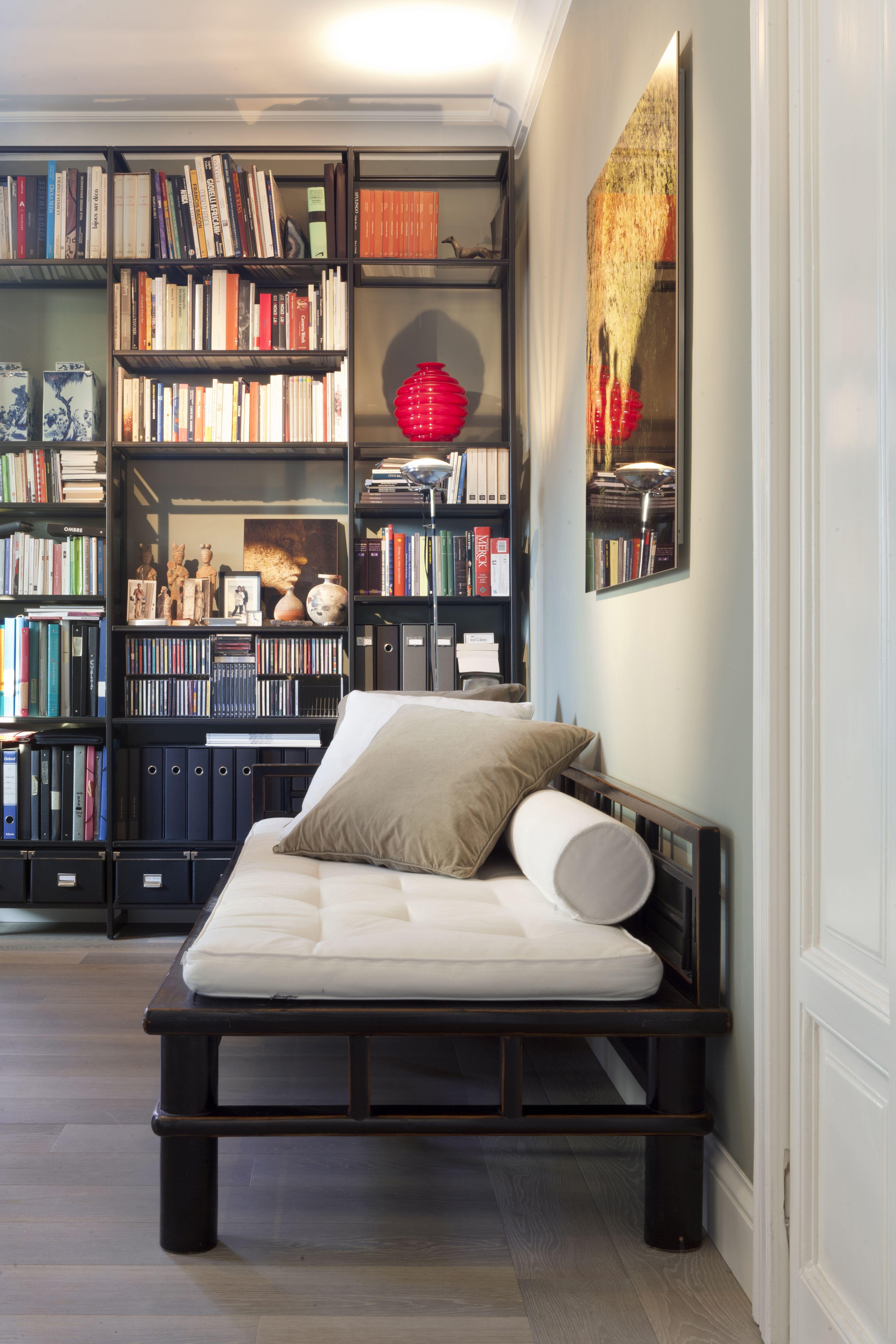 studio con libreria | Idee per decorare la casa, Librerie ...