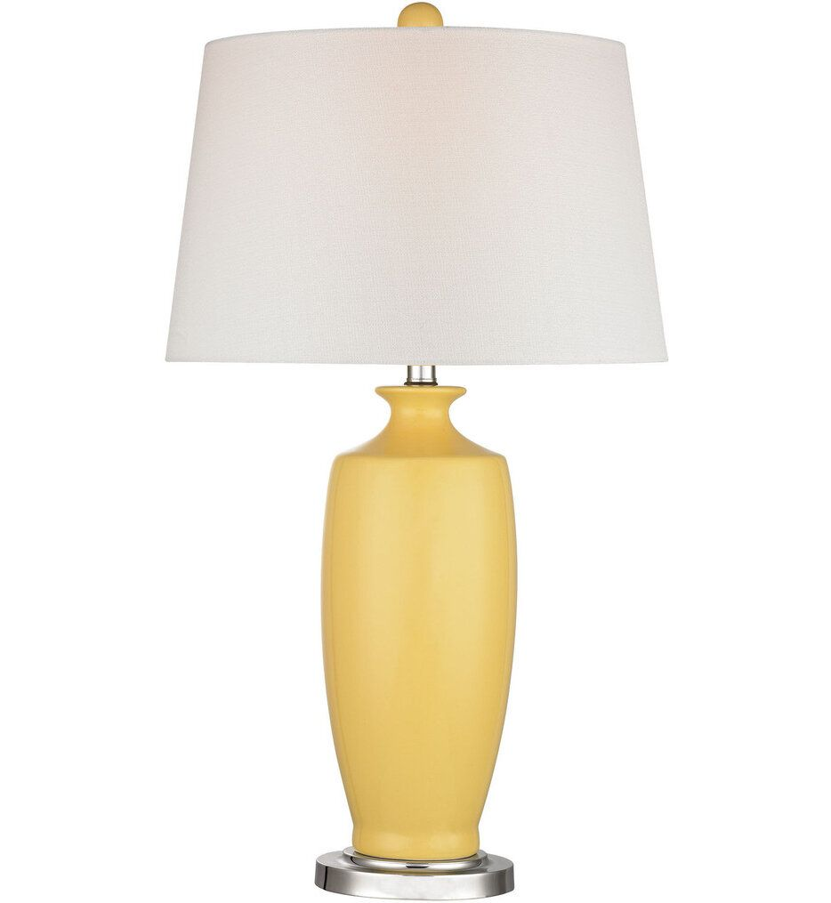 Elk Home D2505 Halisham Sunshine Yellow Table Lamp In 2020 Ceramic Table Lamps Table Lamp Led Table Lamp