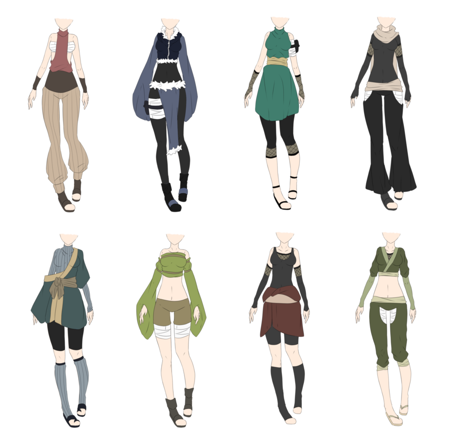 Naruto outfit adoptables 9 closed lower price by - Croquis naruto ...