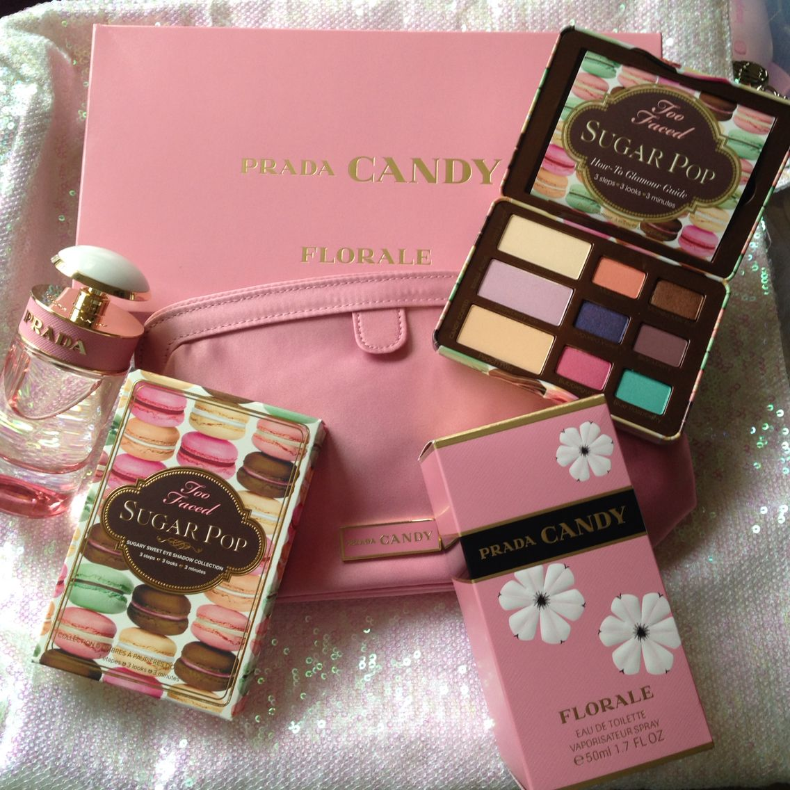 70fb0df541 I'm ready for Spring!!!!! Prada Candy Florale and Too Faced Sugar ...