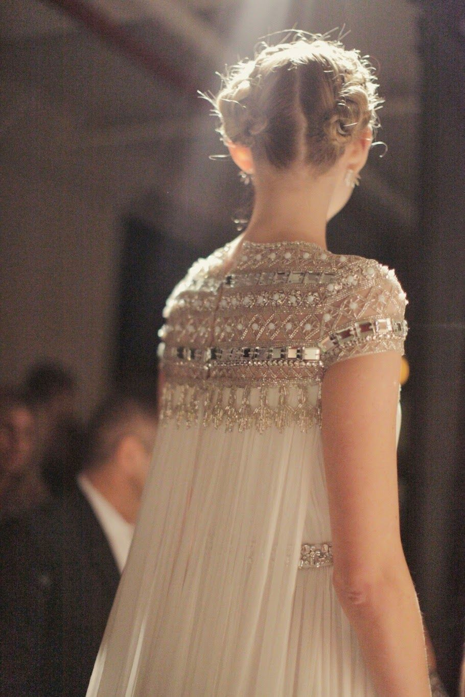 Add on sleeves for wedding dresses  Naeem Kam  Vestidos de Novia  Pinterest