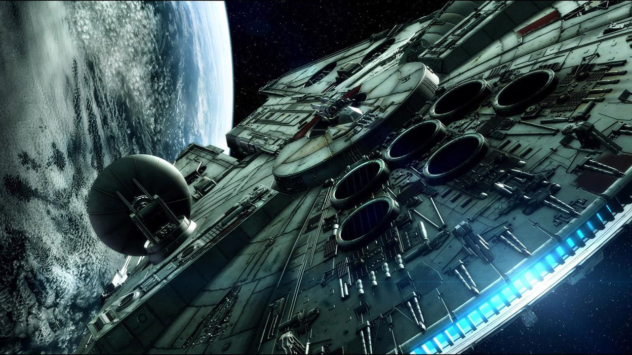 Displaying images for millenium falcon cockpit wallpaper - Millenium Falcon Wallpapers Hd Wallpapers Base