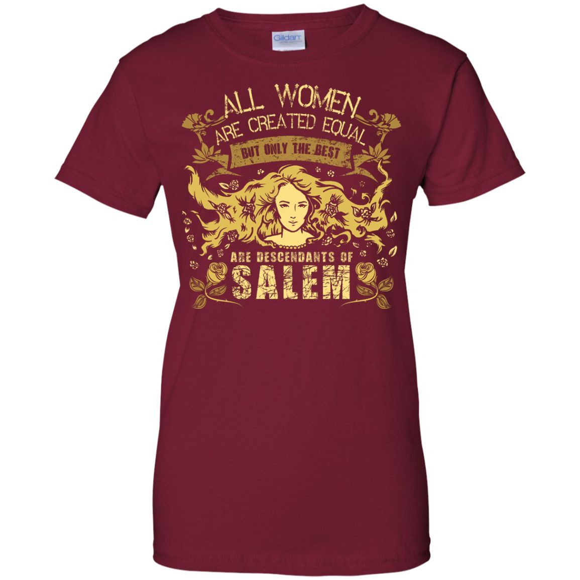 All Women Are Created Equal Women's T-Shirt
