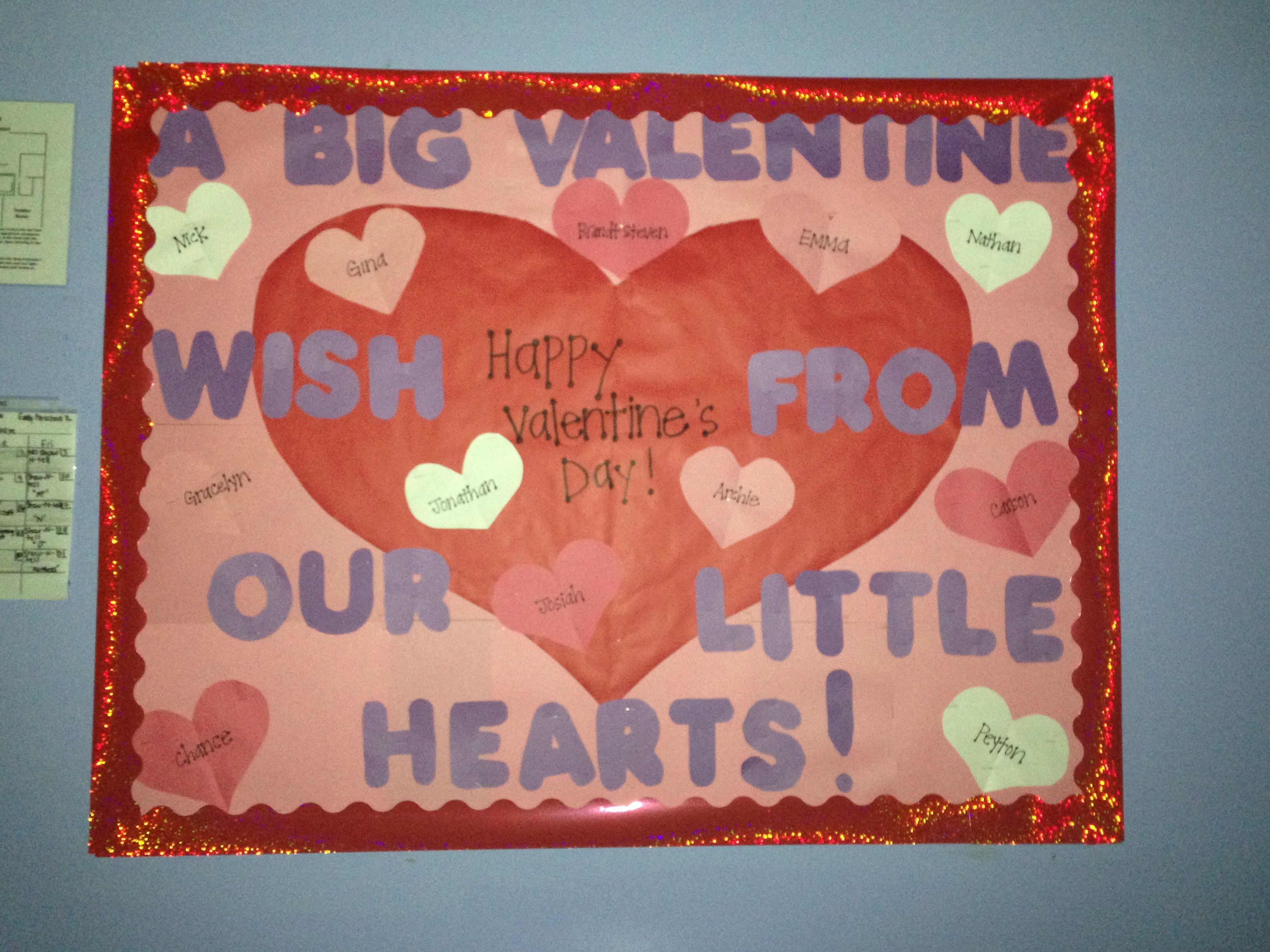 valentines day bulletin board ideas church