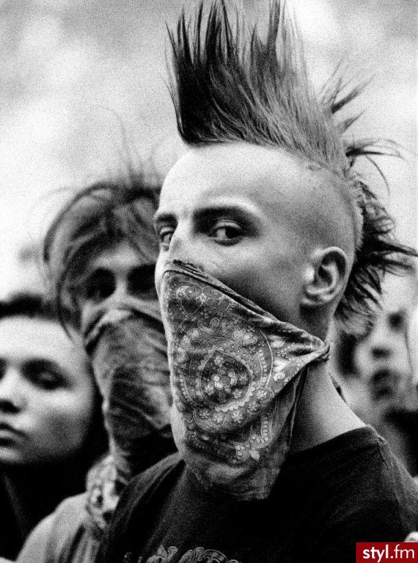 Punk Rock Alternatywne Krótkie Męskie Fryzury Freaky